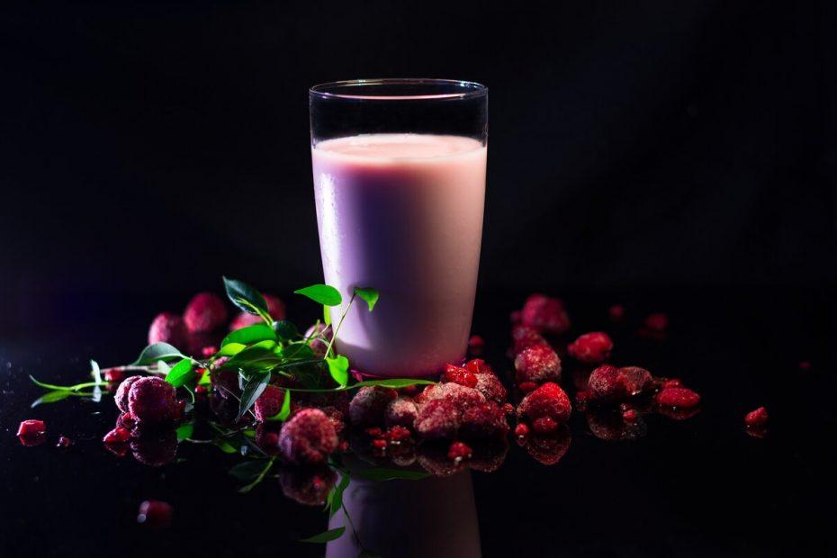 milkshake-framboise